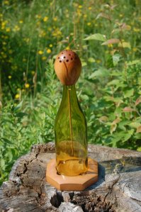 You won't see wine bottle incense burners like this anywhere else.